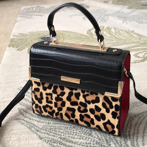 faf186c7133e9 Dune London Handbags - Dune London Leopard Print Bag